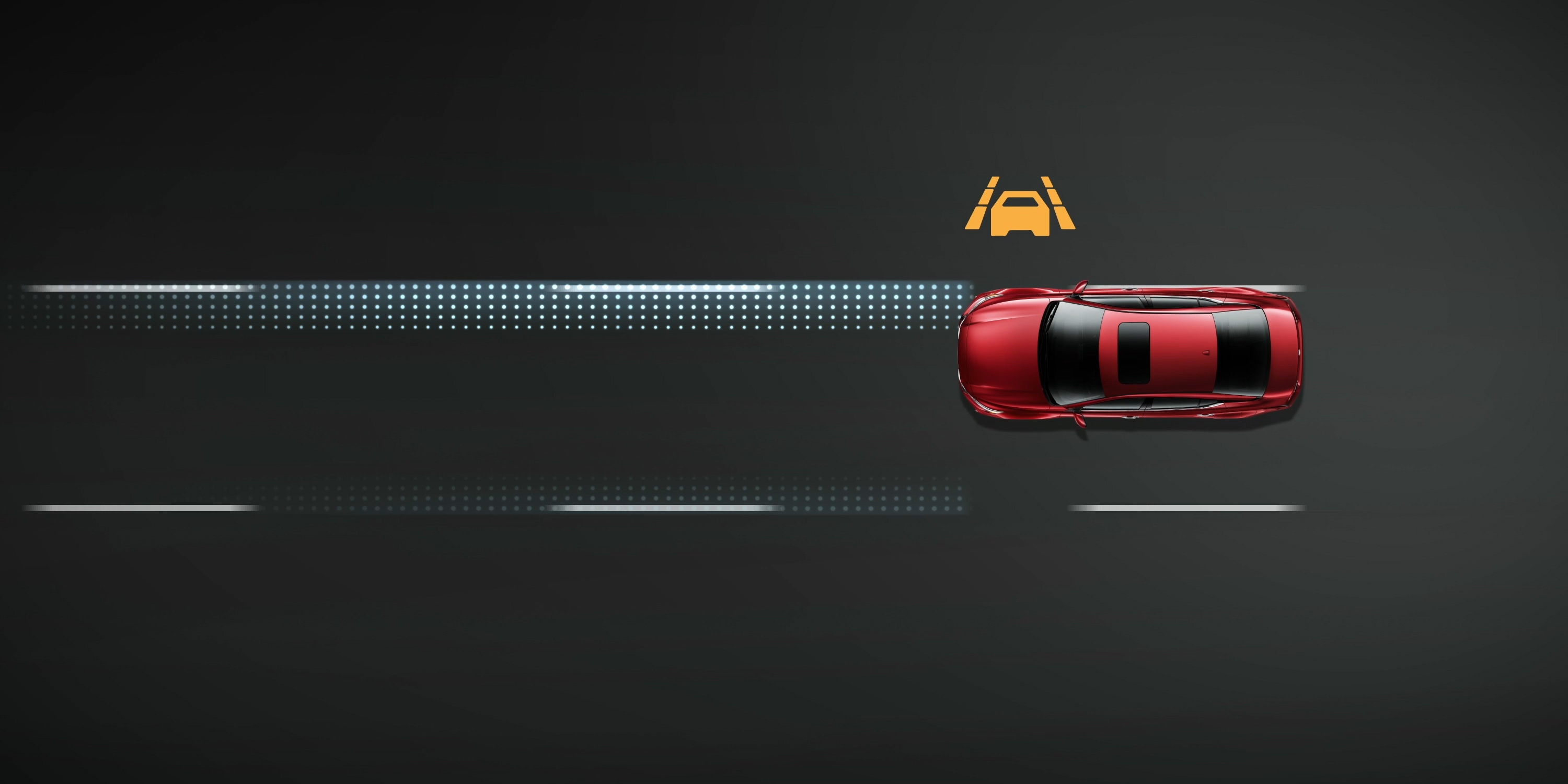Nissan Altima Intelligent Lane Intervention Animation